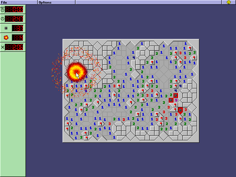 Screenshot of Super Minesweeper