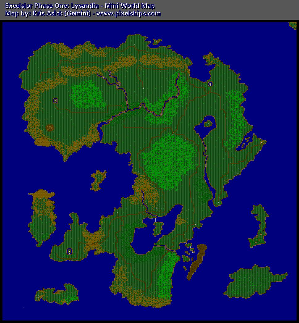 Pixelmusement - Game Maps